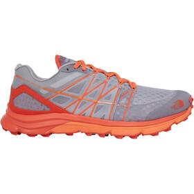 The North Face M's Ultra Vertical Shoes Foil Grey/Exuberance Orange